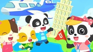 Travel Around the World | Boo Boo Song | Nursery Rhymes | Kids Songs | Kids Cartoon | BabyBus