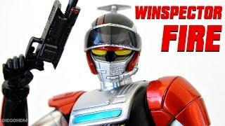 S.H Figuarts Winspector Fire REVIEW BR / DiegoHDM Samurai Buyer: ht...