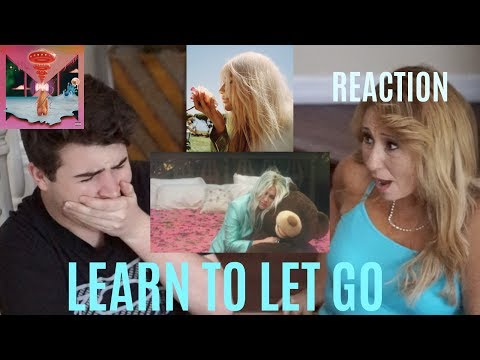 Kesha - Learn to Let Go (Official Video) | REACTION w/ MY MOM