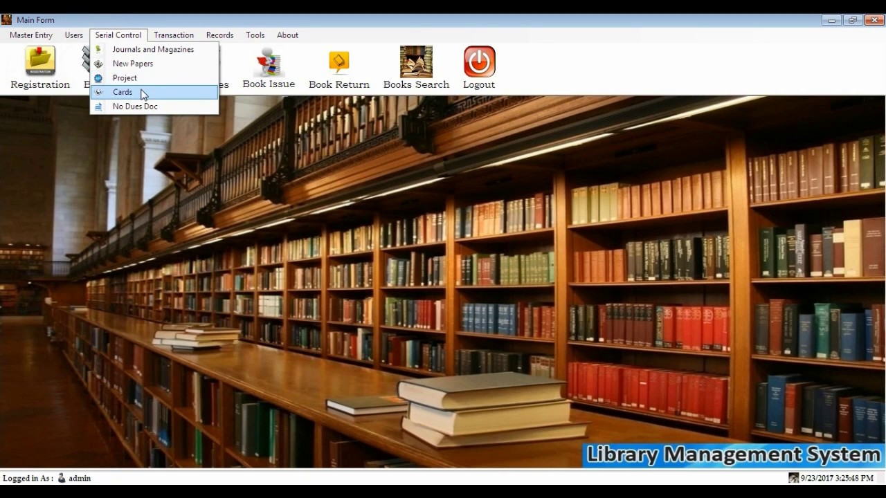 Library Management Software Design in Visual Basic Net || final year  #project