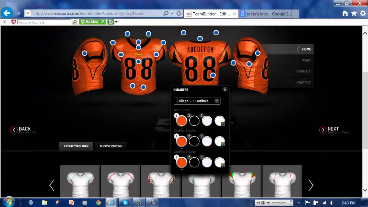 EA Sports NCAA 14 Teambuilder | Reese's Cups - YouTube