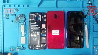 طريقة إصلاح كنكتور الشحن repair charging port Infinix x601-LTE