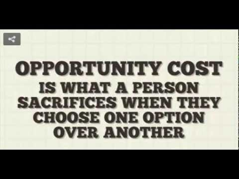 Opportunity Cost Investopedia Video