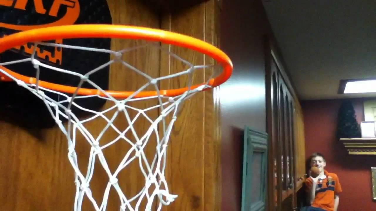 Nerf Basketball Trickshots I Olsen Productions - YouTube