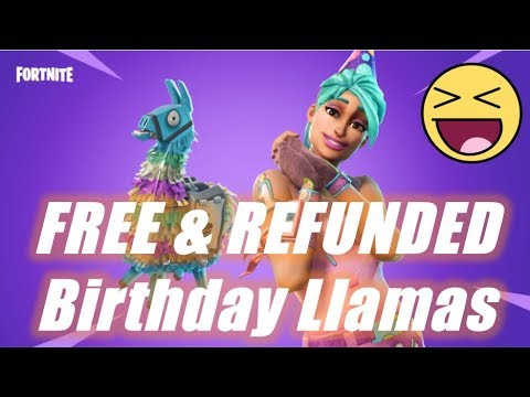 FREE & Refunded Birthday Llamas Announcement :)