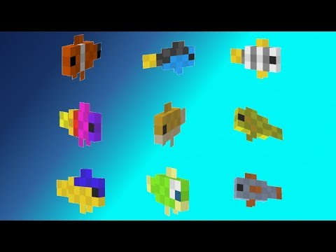 Minecraft Xbox / PE 1.3 - Lots Of NEW Tropical FISH CONFIRMED