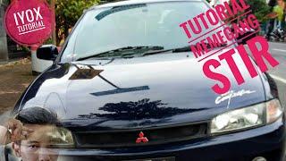 Tutorial cara memegang dan mengendalikan stir mobil saat jalan dan putar balik