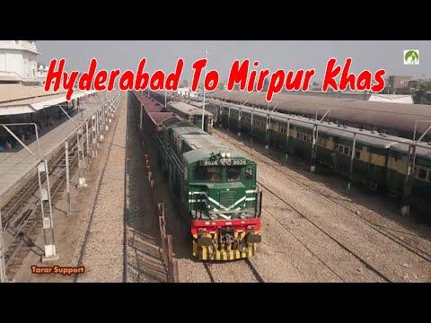 Train Journey Hyderabad To Mirpur Khas (33% Hindu Population) Pakistan Travel