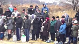 Свято Водохреща в Білокуракине, пляж р.Біла, 19.01.2016