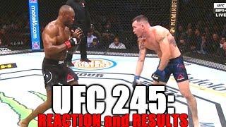 UFC 245 (Kamaru Usman vs Colby Covington): Reaction and Results