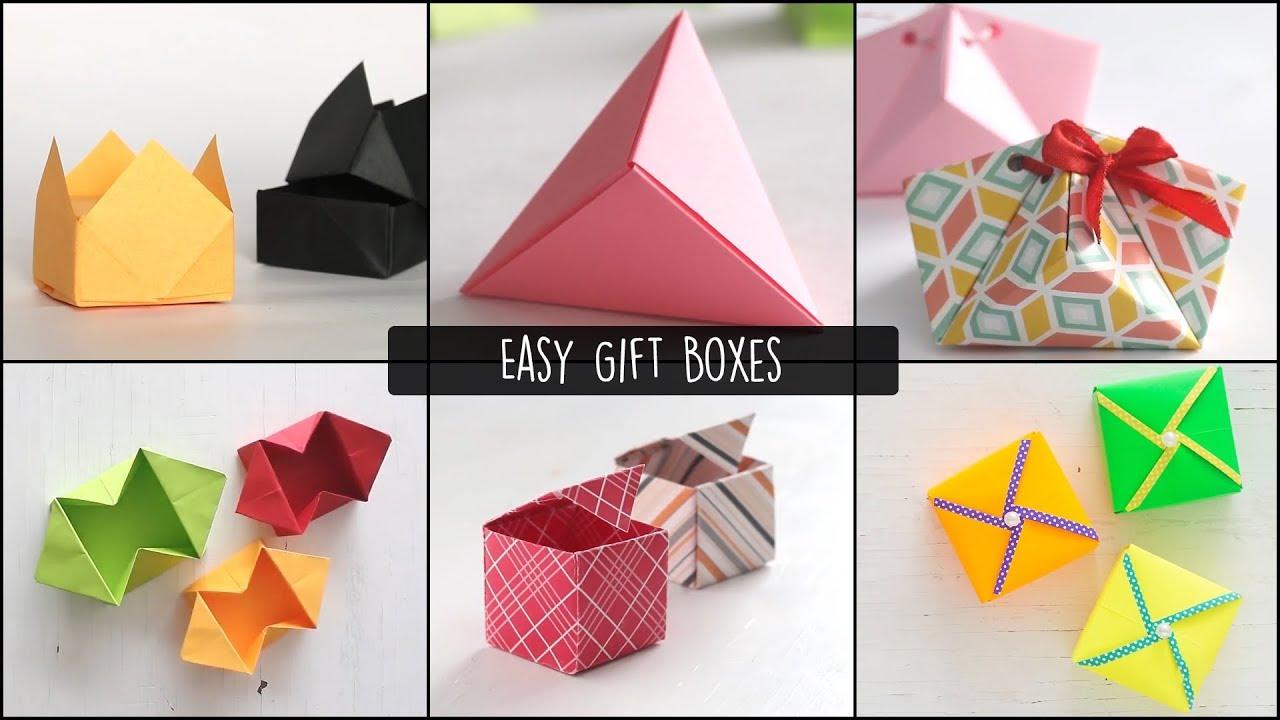 Pin by Dorisa Tee on Origami Box Tutorial | Paper box diy, Origami ... | 720x1280