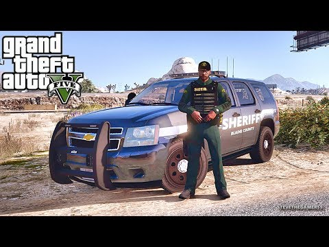 GTA 5 MODS LSPDFR 885 - TAHOE PATROL!!! (GTA 5 REAL LIFE PC MOD)