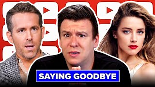 It's time to say Goodbye... Ryan Reynolds, Johnny Depp Amber Heard Emails, & Today's News