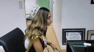 Reina del Carnaval Vegano Reclama Apoyo a la Cultura en La Vega
