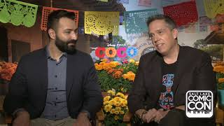 Exclusive Interview With Lee Unkrich And Adrian Molin Disney/Pixar's Coco