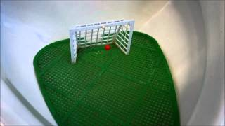 Pee-nalty Shot - Funny soccer goal urinal pee splash guard in Switzerland
