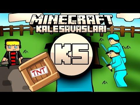 Minecraft: NDNG Kale Savaşları - Enes Baturay TNT TUZAĞI