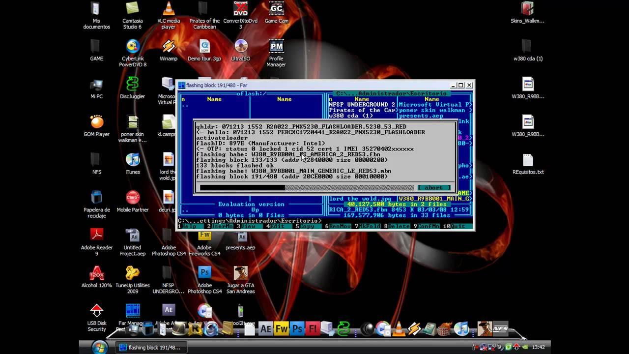 temas flash para w380