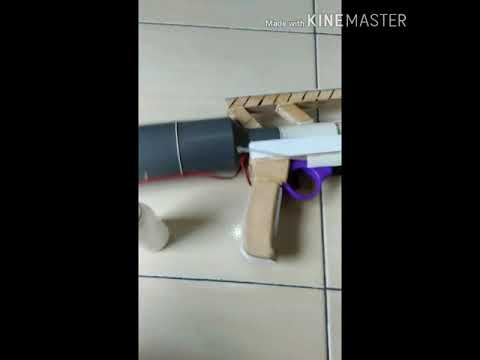 make a sniper rifle from PVC material