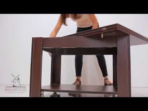 Cмотреть видео Столик журнальный раскладной Jazz5