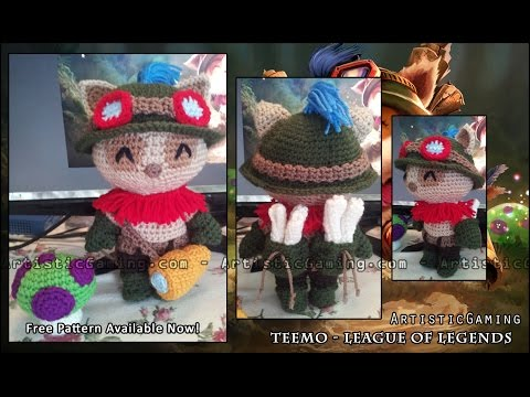Create Your Own Teemo Free Crochet Pattern Youtube