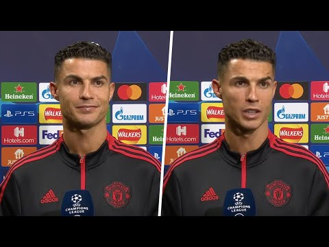 """""""I made history in this club, and I want to do it again."""" Ronaldo on a memorable Man Utd comeback"""