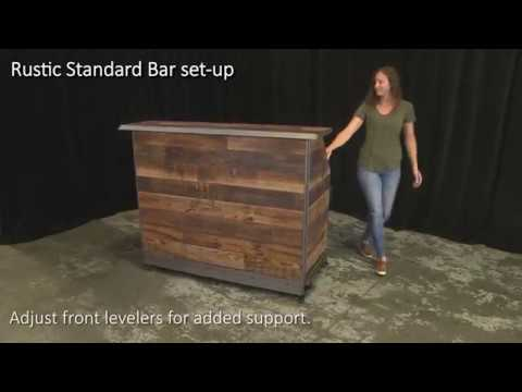 Rustic Standard Bar Set Up