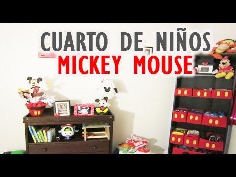 Cuarto de ni os mickey mouse vlog 21 youtube - Cuartos para ninos ...