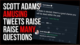 Scott Adams Tweets Eyebrow-Raising Train Of Thought And Makes Everyone Question His Goals