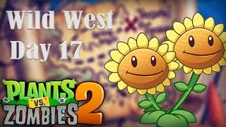 Plants vs. Zombies™ 2 - PopCap Wild West Day 17 Walkthrough