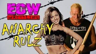 ECW Anarchy Rulz: Dawn Marie vs Sandman (BARBED WIRE MATCH)