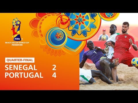 Senegal v Portugal [Highlights] - FIFA Beach Soccer World Cup Paraguay 2019™
