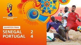 Senegal v Portugal Highlights FIFA Beach Soccer World Cup Paraguay 2019