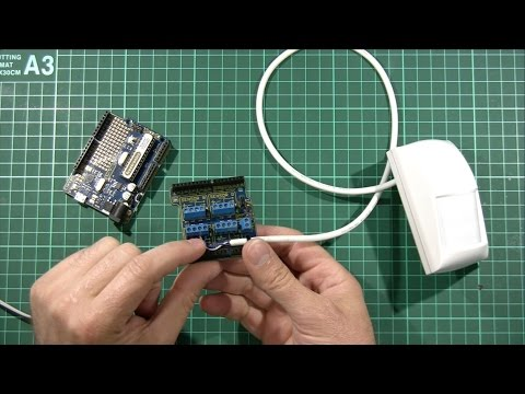 SuperHouseTV #13: Connecting security sensors to Arduino