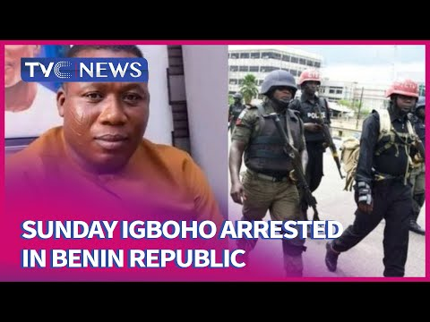 [THIS MORNING] Sunday Igboho Arrested In Benin Republic