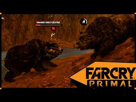Far Cry Primal #41 Caçando o Grande Urso Cicatriz!