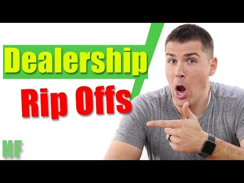 5 Ways Car Dealers Rip You Off (And How to Avoid Them All)