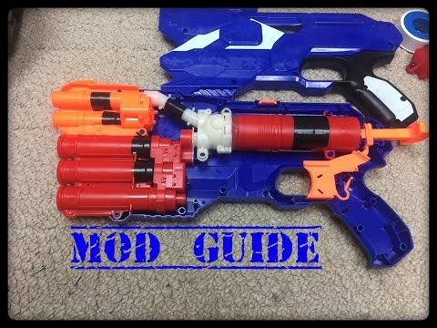 The Nerf Mega/Elite Dual-Strike Mod Guide (Seal, Air Vents and Re-Grease)