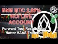 BNB BTC 2.09% ROI on a LIVE ACCOUNT!
