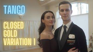 Tango Basic Syllabus Closed Gold Variation 1 by Iaroslav and Liliia Bieliei