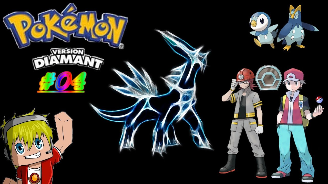 Pok aventure 04 pierrick champion de charbourg et evolution pok mon diamant youtube - Evolution pokemon diamant ...