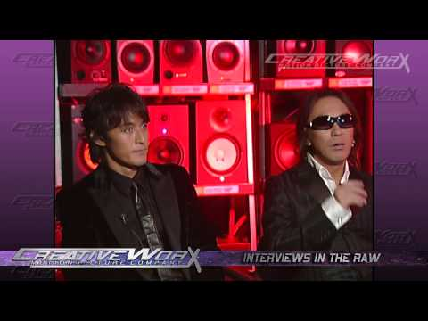 B'z Interview Part 1 2007 Tak & Koshi