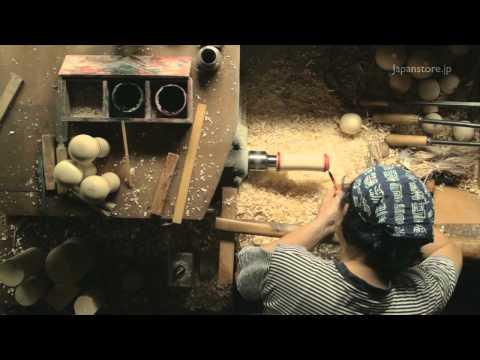 Kokeshi Doll Hand Made Traditional Folk Art 伝統こけしの世界