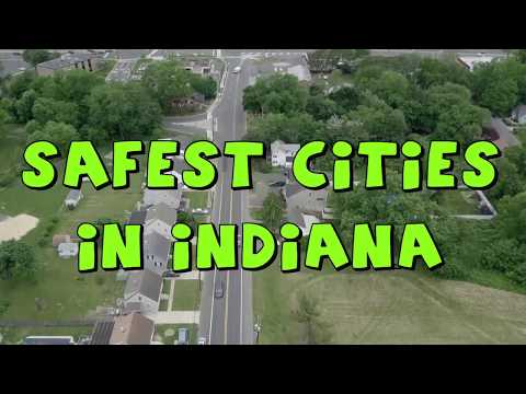 These Are The 10 SAFEST CITIES To Live in INDIANA