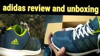 Adidas Adispree Running Shoes- green,navy& silver ( unboxing and review )