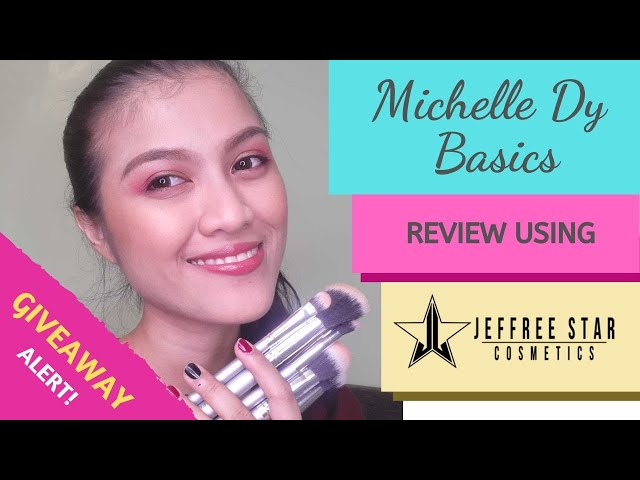 Michelle Dy Basics REVIEW using JEFFREE STAR Cosmetics + Giveaway!