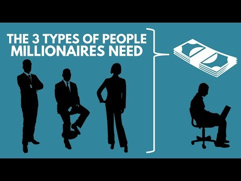 The 3 Types of People ALL Millionaires Need