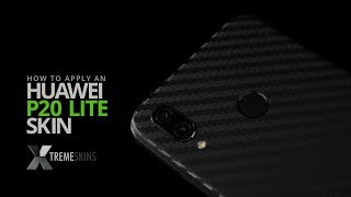 How to apply an Huawei P20 Lite skin | XtremeSkins