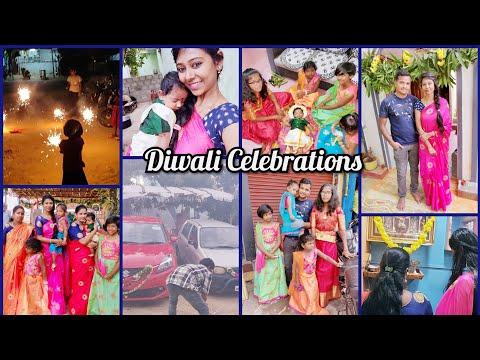 #Vlog || Diwali Celebrations || Ma Attayya  SPL Gongura Boti Curry || Asha Sudarsan Telugu Vlogs