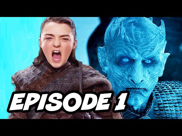 Game Of Thrones Season 7 Episode 1 - TOP 10 WTF and Easter Eggs